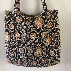 Vera Bradley bag with matching cosmetic bag